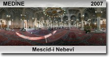 Al Masjid-ul-Nabawi (Medina) - 3D view - Day time - 2007